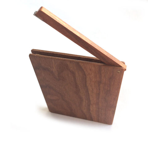 Wood Slim Credit Card Wallet