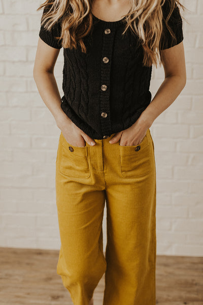 Marigold Wide Leg Crop