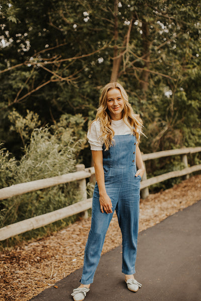 Sullivan Denim Jumpsuit