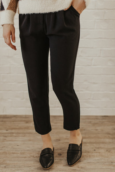 Saylor Trousers in Black