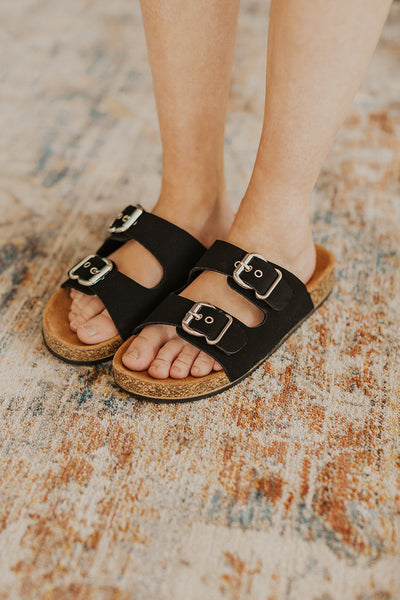 Luka Sandal in Black