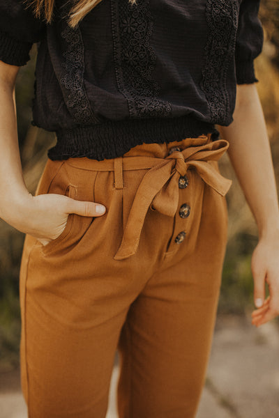 Jasper Trousers in Camel