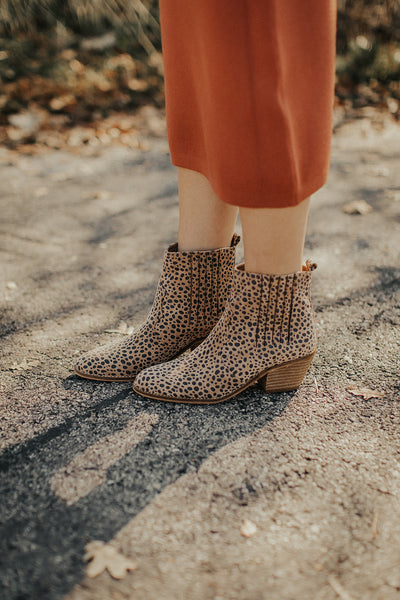 Lenora Bootie in Panthera