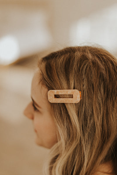 Geometric Hair Clips