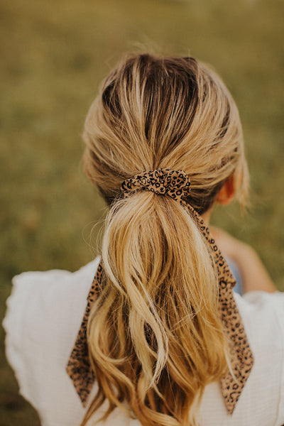 Hair Scrunchie Scarf