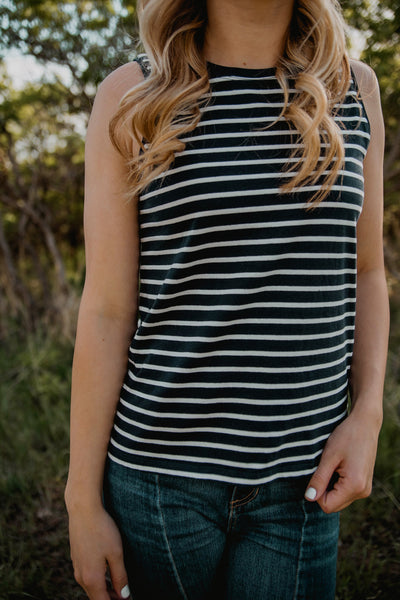 Jett Top in Navy