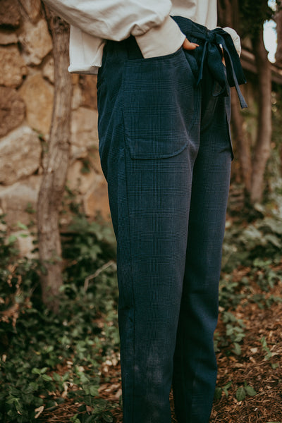 Highgate Navy Trousers