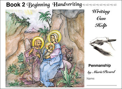 Writing Can Help -Book 2: Beginning Handwriting eBook-NEW updated version