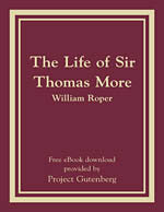 The Life of Sir Thomas More -eBook