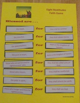 Faith Games: Eight Beatitudes (PDF)