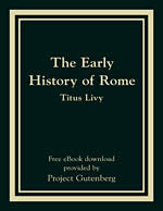 The Early History of Rome -eBook