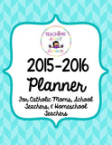 Planner for Catholic Moms & Teachers - PDF
