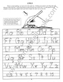 Writing Can Help -Book A: Creative Alphabet eBook-NEW updated version