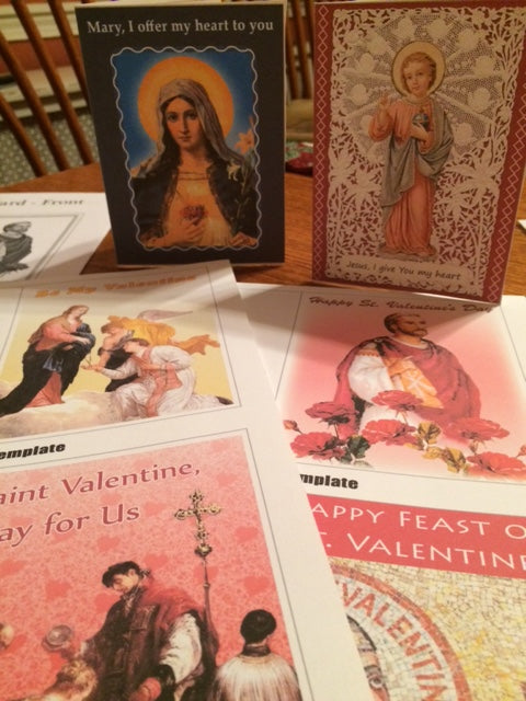 St. Valentine Educational Activity Packet  - PDF Download
