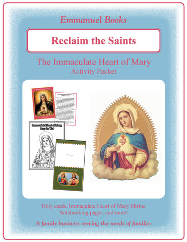 "Immaculate Heart of Mary - ""Reclaim the Saints"" MINI - hands-on learning kit"