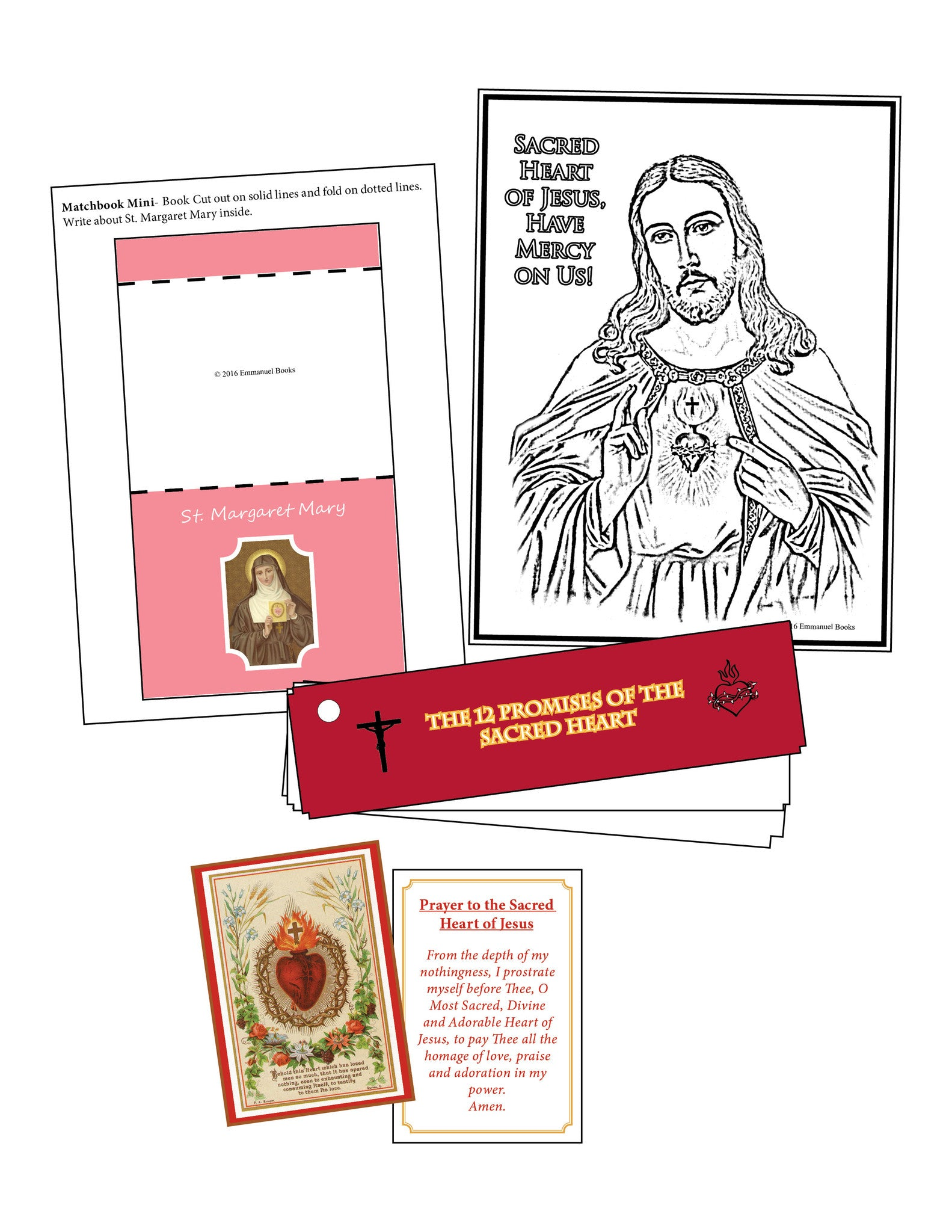 Sacred Heart of Jesus Kit