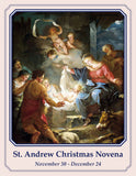St. Andrew Christmas Novena Holy Card