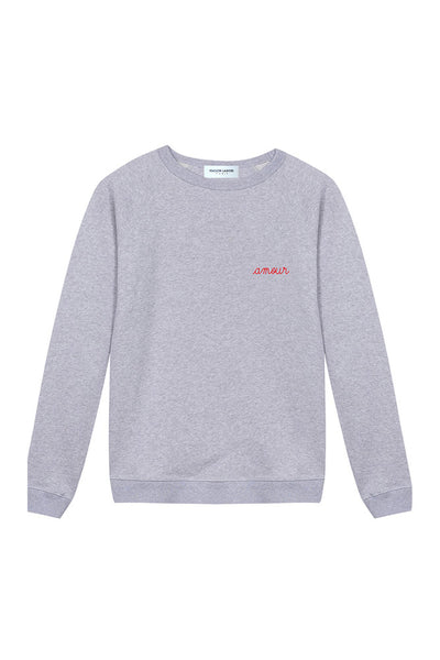 Sweatshirt Amour Grey Melange