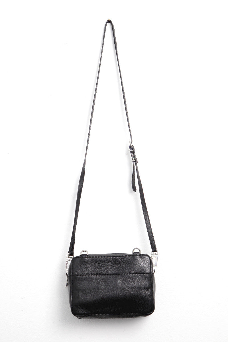 Boxy XL Zip Bag Black