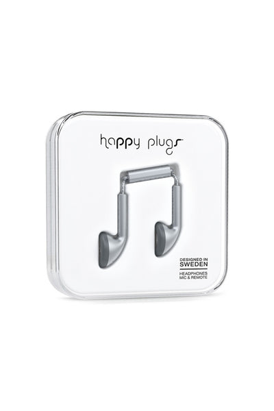 Happy Plugs Earbud Space Grey