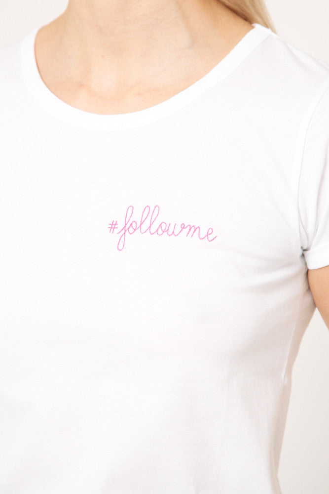 Follow Me T-Shirt White