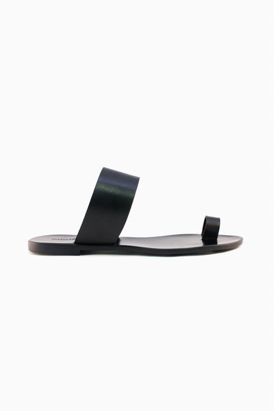 Guida Leather Sandal Black