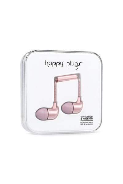 In-Ear Pink Gold Headphones