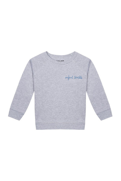 Kids Enfant Terrible Sweatshirt Grey Melange