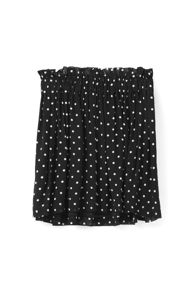 Monette Georgette Skirt Black
