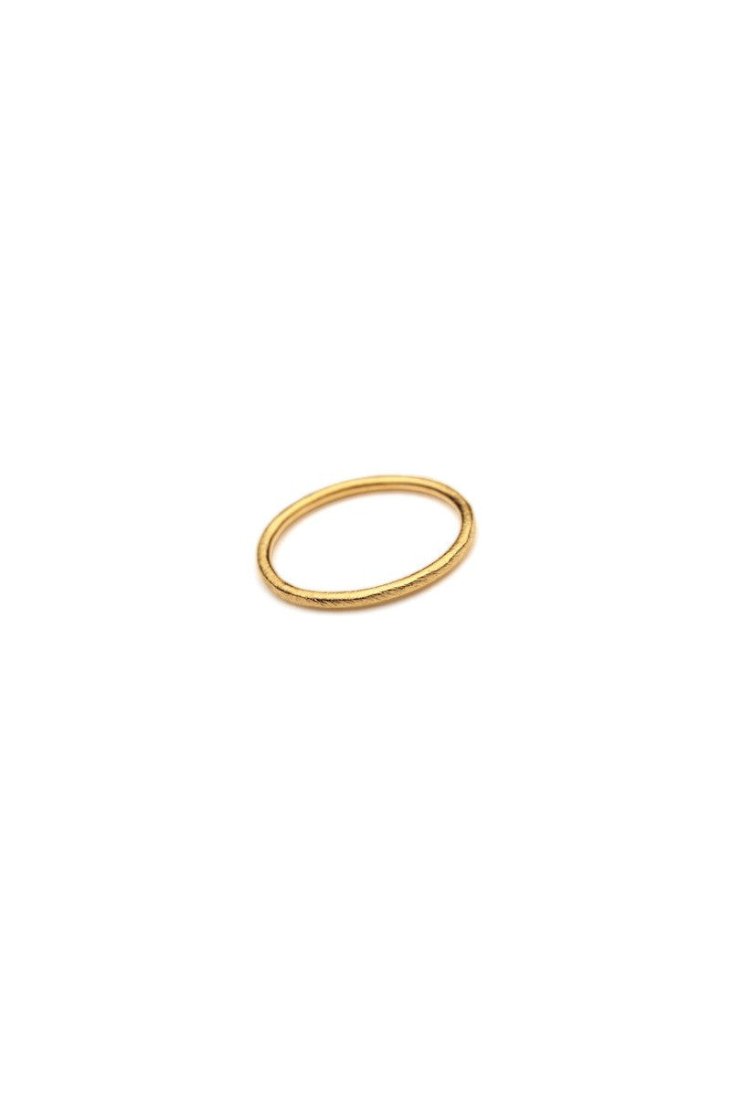 Plain Ring Gold Plated
