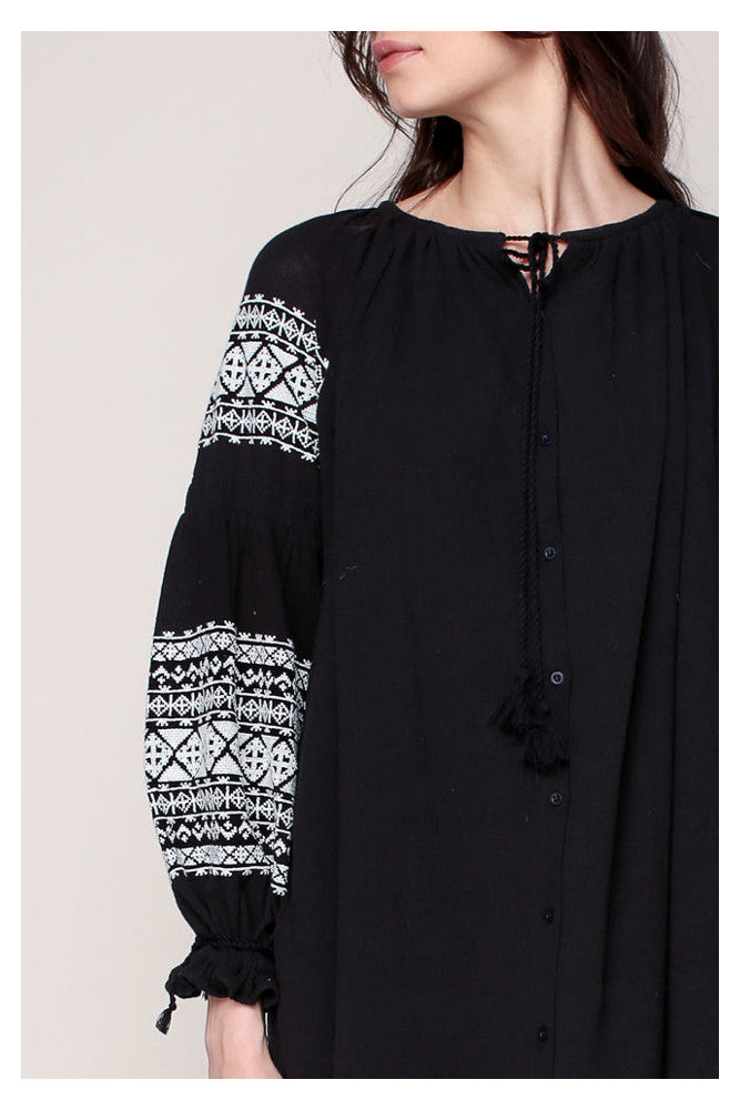 Qelfin Dress Black
