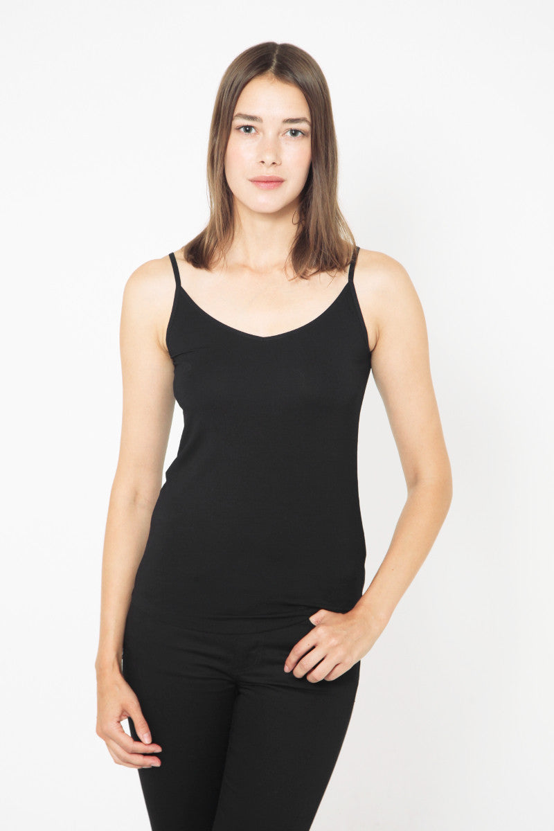 Spaghetti Strap Top Black
