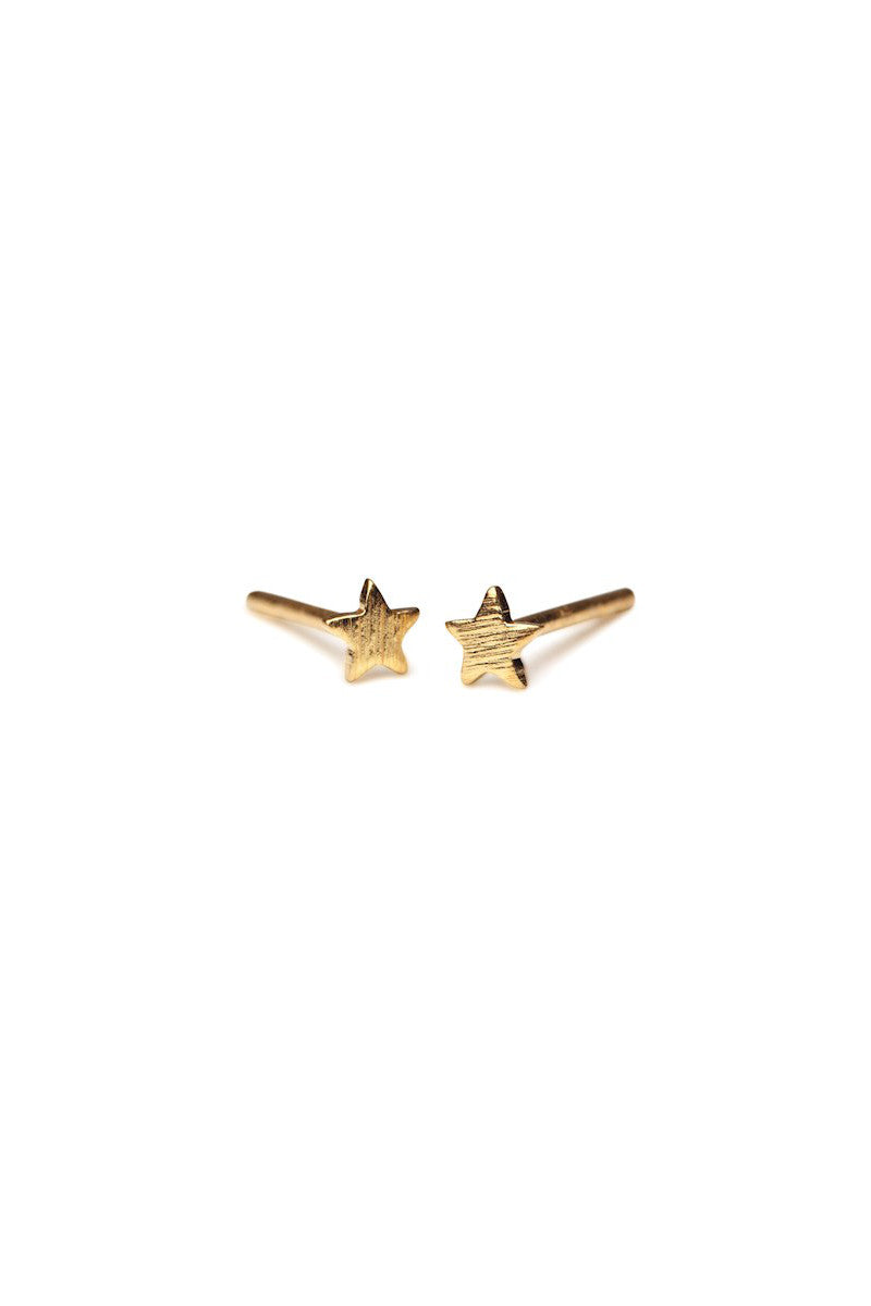 Mini Star Earstick Gold Plated