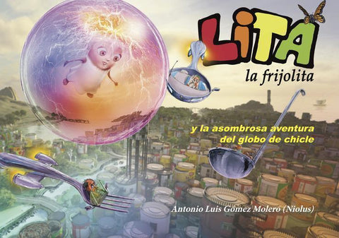eBook MOBI for Kindle: Lita la frijolita y la asombrosa aventu