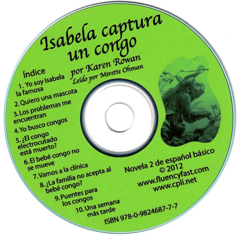 Isabela captura un congo, audio CD by Karen Rowan