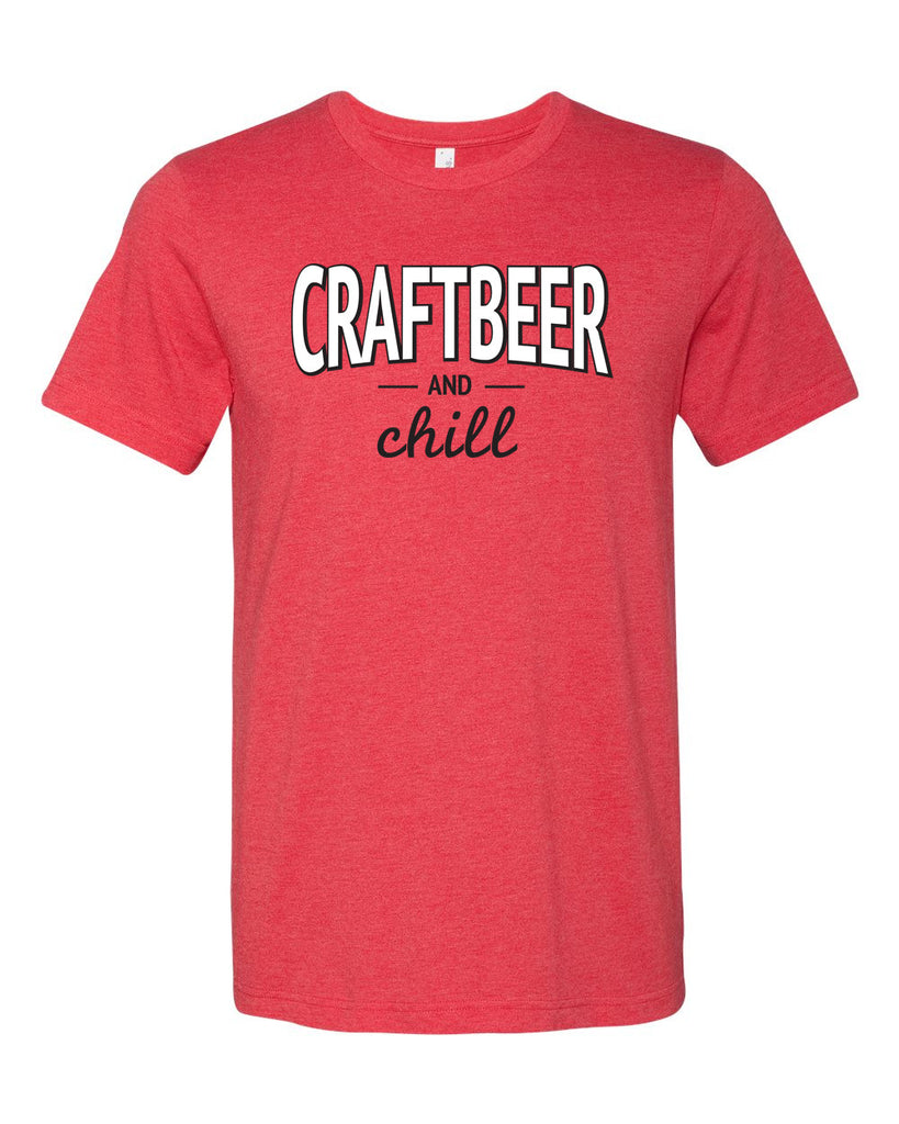 Craft Beer and Chill Unisex Tee
