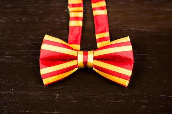 Adult Gryffindor Satin Bow Tie