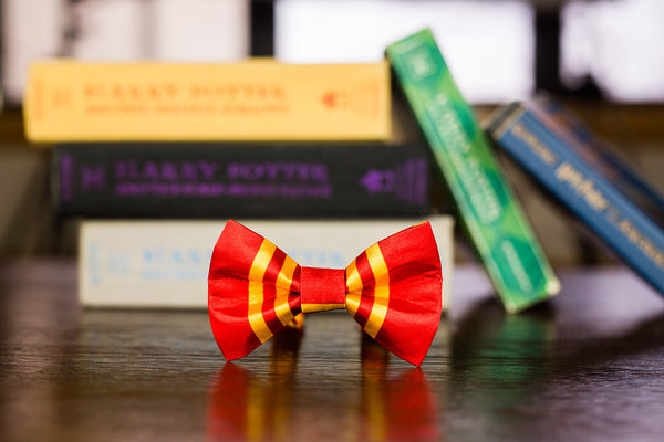 Gryffindor Satin Bow Tie: Infant-Child