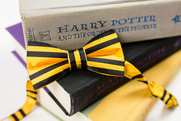 Adult Hufflepuff Satin Bow Tie