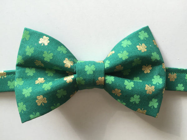 Children's St. Patrick's Day Bow Tie - Dapper Guy Bow Ties - 1