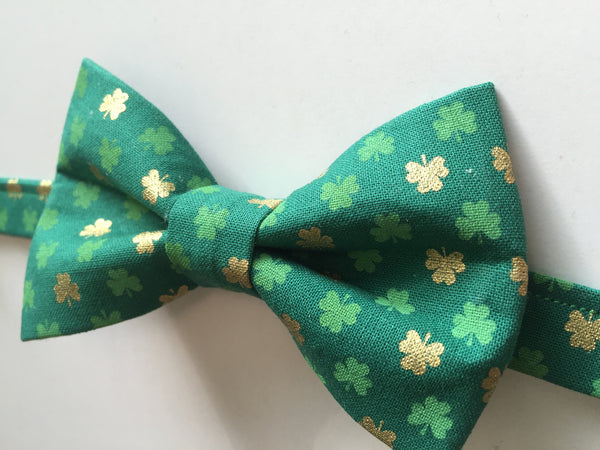 Children's St. Patrick's Day Bow Tie - Dapper Guy Bow Ties - 2