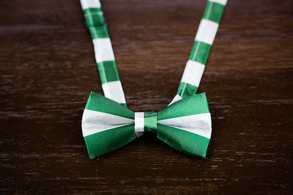 Adult Slytherin Satin Bow Tie