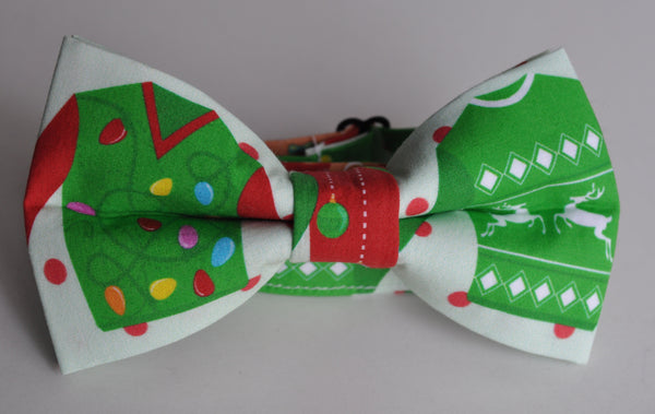 Adult Ugly Sweater Bow Tie - Dapper Guy Bow Ties - 2