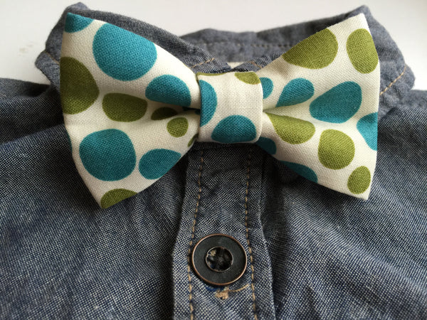 Vintage Polka Dots - Dapper Guy Bow Ties - 2