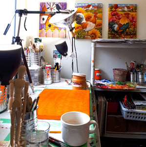 Painting table view