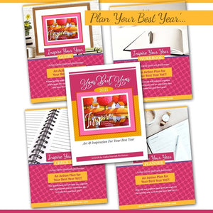 Inspire your year goal setting bundle