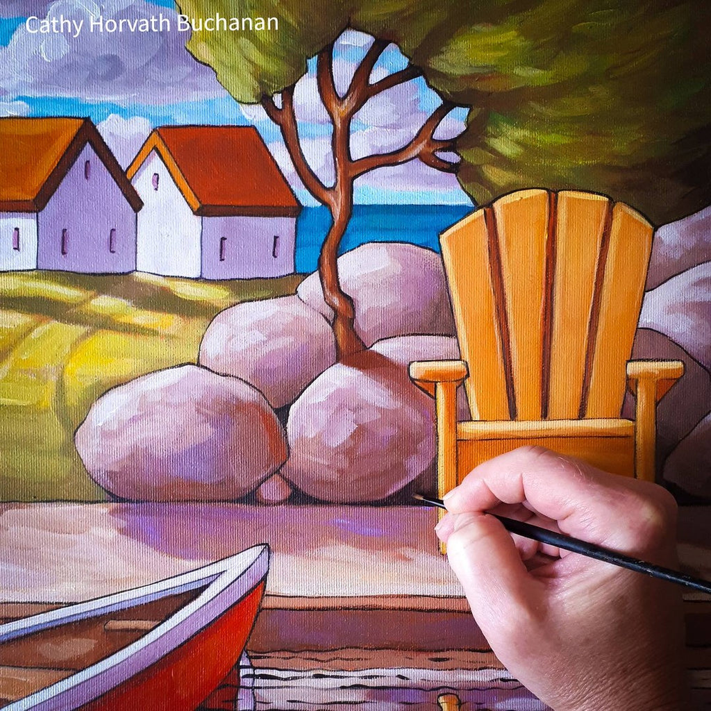 NEW original paintings coming, the ' Seaside Collection'