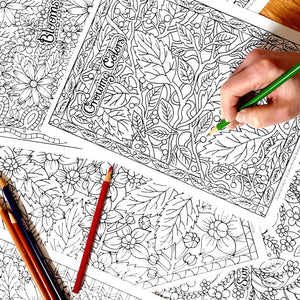 coloring pages by artist Cathy Horvath Buchanan
