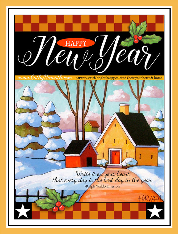new years printable by Cathy Horvath Buchanan