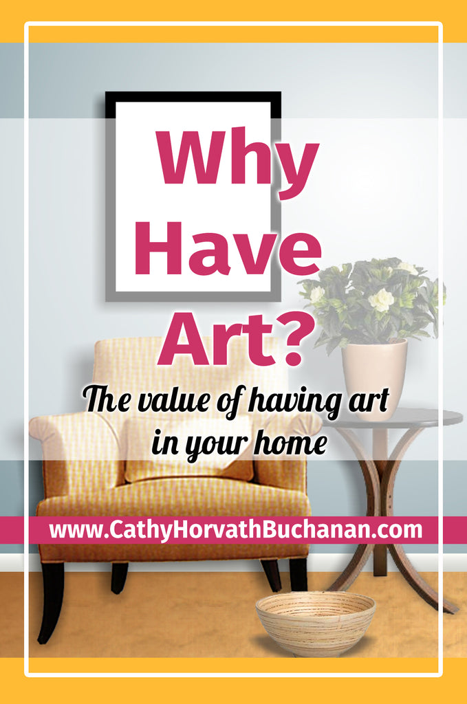 why have art cathy horvath buchanan